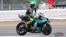 """MotoGP: Rossi: """"È come se la gomma fosse bruciata, non sappiamo cosa fare"""""""