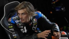 """MotoGP: Marini: """"If you want a podium in MotoGP you would do much worse than risk with slicks """""""