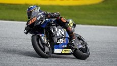"""MotoGP: Marini: """"I won't mention any names, but a rider damaged my 2nd attempt"""""""