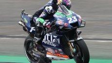 """MotoGP: Bastianini: """"Le cadute fanno parte del motociclismo, ma ho un buon ritmo"""""""