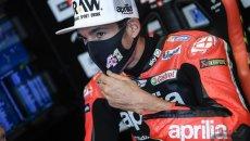 "MotoGP: A.Espargarò: ""Dovizioso dice di sentirsi pilota, pensavo di vederlo qui"""
