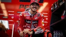 "MotoGP: Bagnaia: ""Martìn fa diventare la Ducati una Suzuki o una Yamaha in curva"""