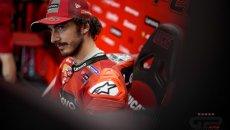 """MotoGP: Bagnaia: """"Michelin ha chiesto scusa, ma ora c'è un nuovo GP all'orizzonte"""""""
