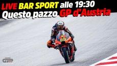 MotoGP: LIVE BAR SPORT alle 19.30: Questo pazzo GP d'Austria: slick con la pioggia!