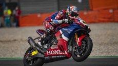 SBK: Kawasaki, Honda e BMW test in pista a Barcellona