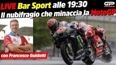 MotoGP: LIVE Bar Sport alle 19:30 - Il nubifragio che minaccia la MotoGP