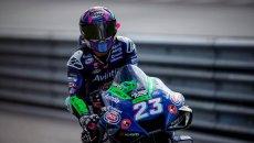 """MotoGP: Bastianini penalizzato: """"Ho usato troppa pista per recuperare"""""""