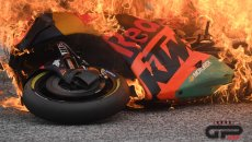 MotoGP: KTM and Aprilia on fire at the Red Bull Ring: two million Euros in smoke