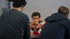 """MotoGP: Marquez: """"mi sono scusato con Martin, è stata totalmente colpa mia"""""""