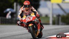 """MotoGP: Marquez: """"Speravo meglio, ancora non ci siamo, devo stringere i denti"""""""