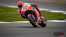 """MotoGP: Marquez: """"nella caduta mi è andata sabbia negli occhi, nella FP2 lacrimavo"""""""