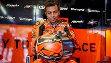 """MotoGP: Petrucci: """"mi hanno licenziato che avevo ancora la tuta addosso"""""""