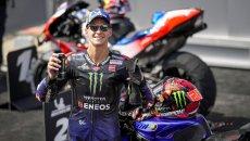 """MotoGP: Quartararo: """"Il migliore piano per la gara è non avere un piano"""""""
