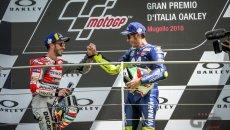 """MotoGP: Rossi: """"Sarei contento se Dovizioso fosse mio compagno di squadra"""""""