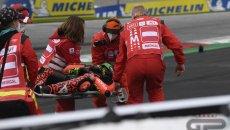 MotoGP: Lorenzo Savadori operato con successo a Parma: salterà il prossimo GP