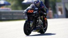 """MotoGP: Marini: """"Sul bagnato non funziona l'holeshot, dobbiamo capire il motivo"""""""