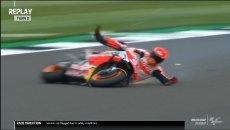 MotoGP: Marquez distrugge la Honda, ma domina la FP1 a Silverstone: 2° A.Espargarò