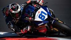 SBK: Gonzalez regola Aegerter e Caricasulo nella FP1 Supersport a Navarra