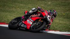 SBK: Redding e la Ducati all'attacco nella FP3 di Most, 2° Rea