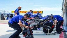 SBK: Il team di Vinales e Yamaha si separano dopo quattro gare
