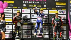 SBK: Women's European Cup: a Misano vince Beatriz Neila Santos, 3ª Ponziani
