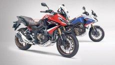 Moto - News: Honda NT1100: nuovi dettagli sulla crossover spin off della Africa Twin