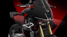 Moto - News: Aprilia Caponord V4, ecco come potrebbe essere l'anti Multistrada V4