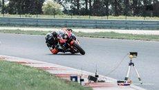 Moto - News: Piega da record: col gomito a terra a 170 km/h – VIDEO