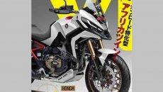 Moto - News: Honda NT1100, in Giappone la immaginano così