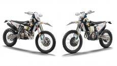 Moto - News: Husqvarna TE 300i e FE 350 Rockstar Edition, enduro senza compromessi