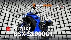 Moto - News: Suzuki GSX-S 1000 GT 2022: gran turismo in prima classe | VIDEO LIVE