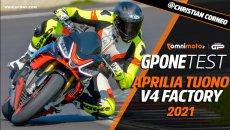 Moto - Test: Prova video | Aprilia Tuono V4 Factory 2021: reginetta da pista!