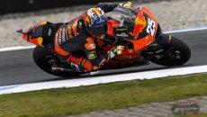 Moto2: Misano - FP3 con il sole, brillano i due Fernandez: 1° Raul, 2° Augusto