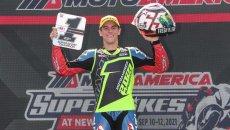 Moto2: Da MotoAmerica: Sean Dylan Kelly si unisce all'American Racing Team