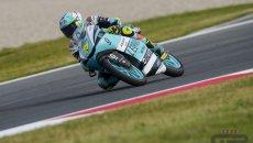 Moto3: Misano: Poker azzurro in FP1 con Foggia che guida la carica