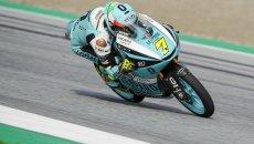 Moto3: Misano, FP2: Dennis Foggia concede il bis, 2° Pedro Acosta