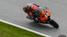 Moto3: Aragon: Deniz Öncü è il migliore nelle FP2, 7° Niccolò Antonelli