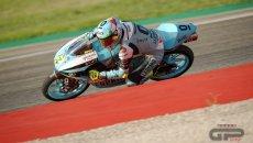 Moto3: Aragon: vince Foggia. Disastro Acosta che Garcia: entrambi a terra