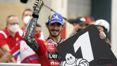 """MotoGP: Bagnaia: """"Adesso posso fare tutto quello che voglio con la Ducati"""""""