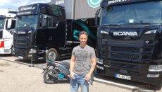MotoGP: THE PHOTO - Andrea Dovizioso Petronas' special guest in Aragon