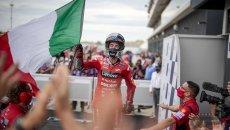 """MotoGP: Bagnaia: """"È stata più dura vincere contro Quartararo che contro Marquez"""""""
