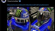 """MotoGP: Morbidelli """"Orgoglioso di essere in blu"""" celebra la Yamaha a Misano"""