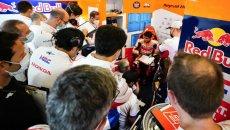 """MotoGP: Marquez: """"Ho provato una moto con molte novità. È stato interessante"""""""