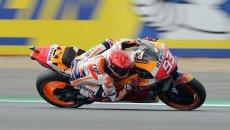 MotoGP: Marquez detta legge nella FP1 di Aragon, 1 secondo a tutti. Vinales 19°