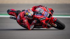 MotoGP: Ducati e Aprilia godono in FP2 ad Aragon: Miller 1°, Espargarò 2°. Marquez cade