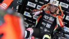 """MotoGP: Aleix: """"conosco i rischi di questo sport, per i miei figli meglio il tennis"""""""