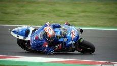 MotoGP: Rins si prende il Warm Up di Misano: Quartararo 2°, Bagnaia 3°