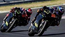 MotoGP: Bagnaia: a 2 secondi e mezzo dalle MotoGP con la Ducati V4S a Misano