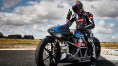 MotoGP: Max Biaggi continua i test con la Voxan: la caccia ai record è ancora aperta