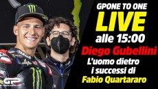 MotoGP: LIVE alle 15:00 - Diretta con Diego Gubellini: i segreti di Quartararo